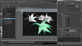 Creating Plants in Maya/Mental Ray