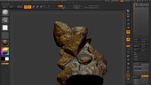 Sculpting a Dragon with ZBrush