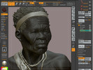 African Woman, Timelapse Session