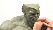 Sculpting Comic Book Style