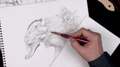 Designing and Rendering Fantasy Characters in Pencil