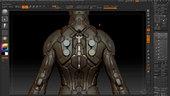 Sci-Fi Costume Design in ZBrush