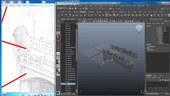 Texturing Environments with Mari