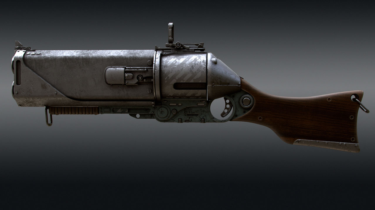 Making of a gun in Modo with Tor Frick