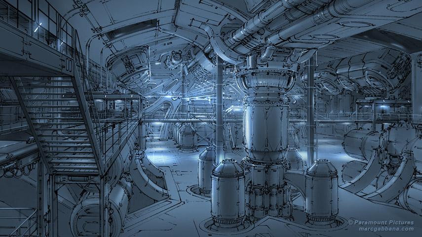 Star Trek: Beyond USS Enterprise engine room