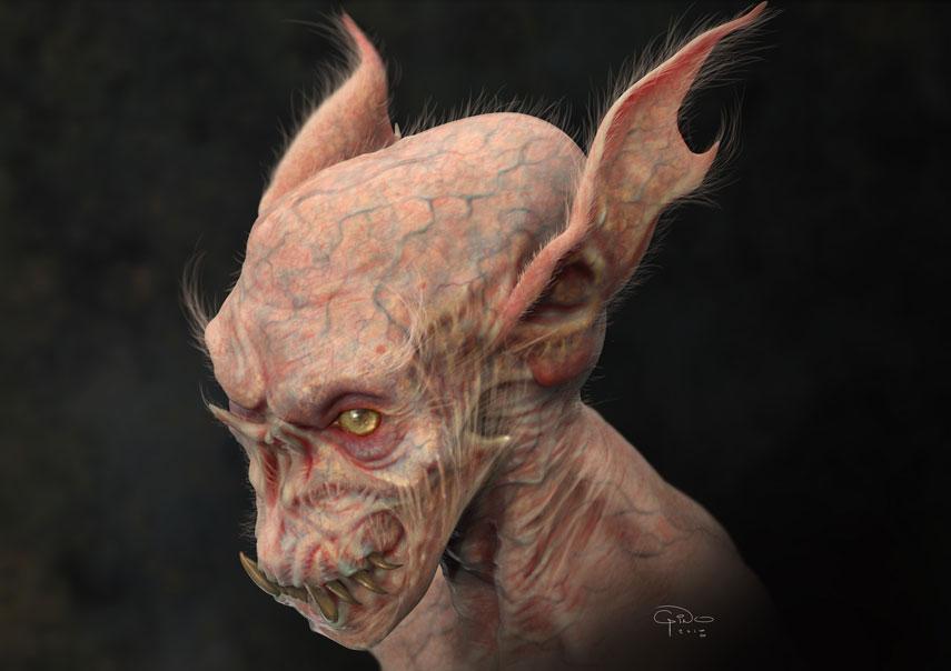 Creating Translucent Creature Skin