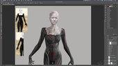 Creating Costume Concept Art for Film & TV