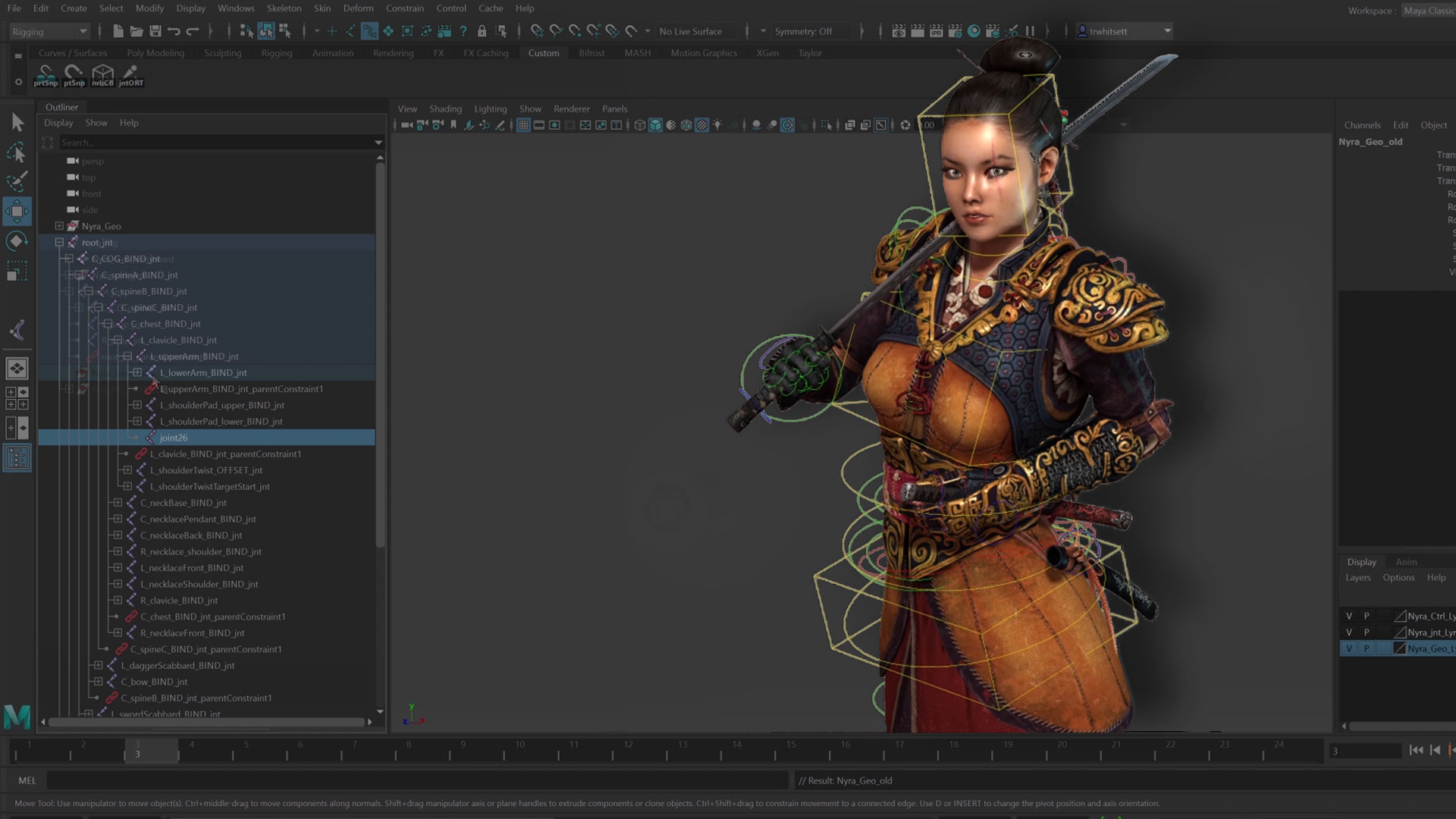 Character Rigging in Maya for Game Production With Taylor Whitsett
