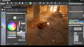 Environment Design for Virtual Production in Unreal Engine 4