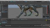 Animating Creature Walk Cycles in Maya