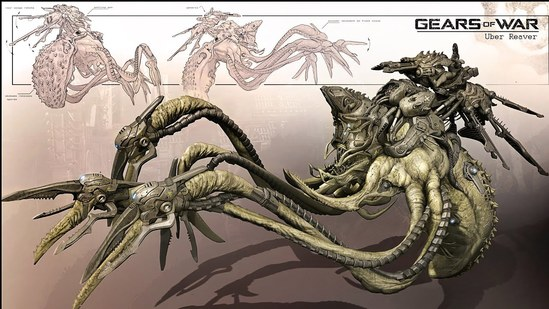 'Gears of War' Creature Design