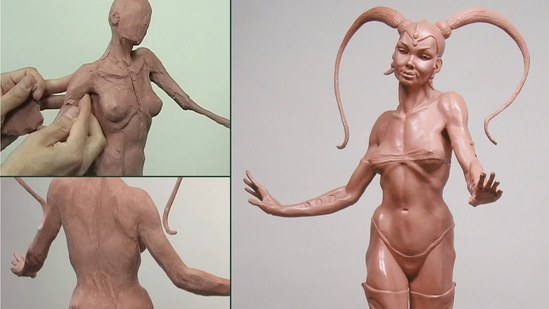 Sculpting the Femme Fatale