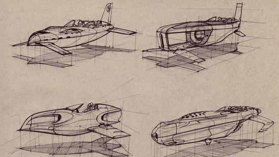 How to Draw Hovercraft and Spacecraft
