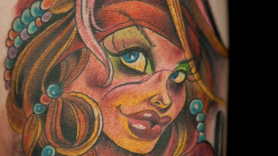 Tattooing Pin-ups