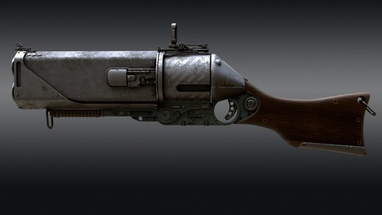 Creating a Gun in Modo