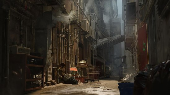 Environment Creation for Film and Cinematics