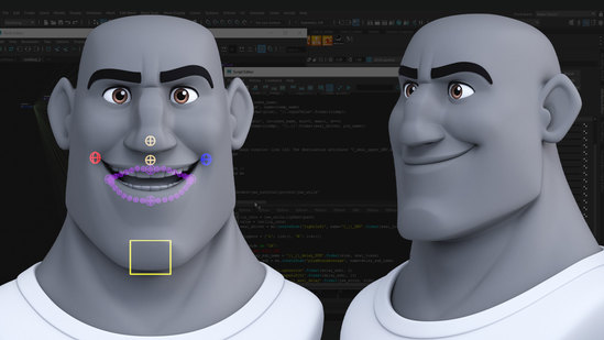 Rigging The Jaw With Python in Maya