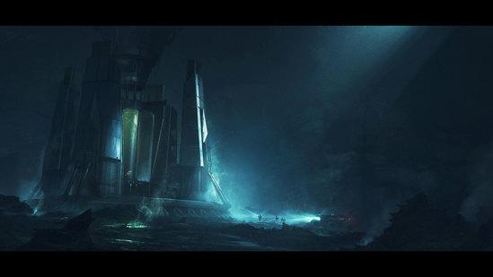 Creating Sci-Fi Keyframe Concept Art