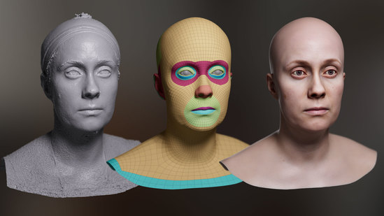 Creating Digital Doubles With Single-Camera Photogrammetry
