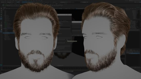 Creating a Male Groom With XGen
